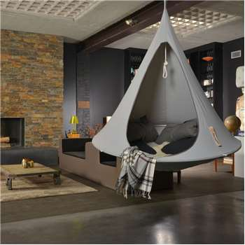 Single Hanging Cacoon in Grey (150 x 180cm)