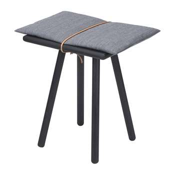 Skagerak - Georg Stool - Low - Black (H45 x W45 x D32cm)
