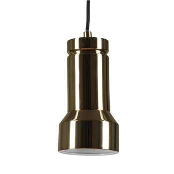 Skaro Pendant Lamp, Polished Brass 18.5 x 10cm