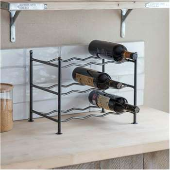 Small Farringdon Wine Rack (H31 x W39 x D27cm)