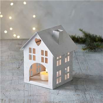 Small House Candle Holder (H15.5 x W10 x D10cm)