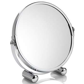 Small Round Mirror (H17 x W16.5 x D4cm)