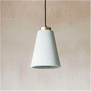 Smeaton Concrete Pendant Lamp (H29 x W20 x D20cm)