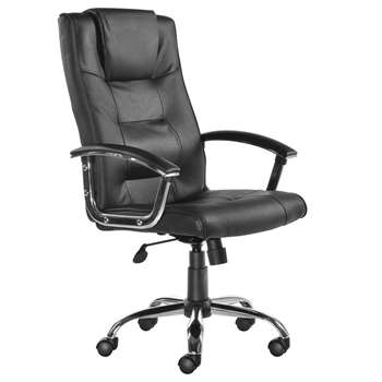 Somerset Executive High Back Chair, Black