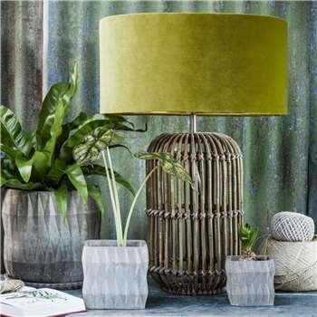 Sonja Rattan Table Lamp (H50 x W25 x D25cm)