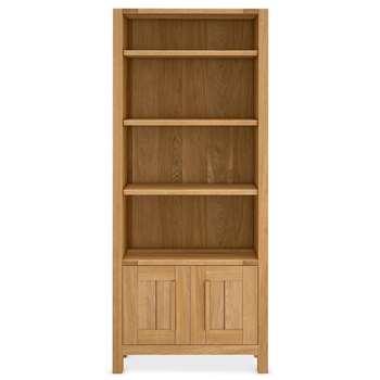 Sonoma Bookcase, Oak (Width 80cm)