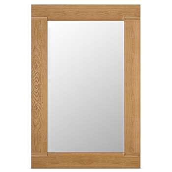 Sonoma Mirror, Oak (H128 x W85 x D2.3cm)