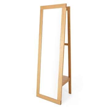 Sonoma Standalone Mirror, Oak (176 x 55cm)