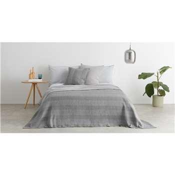 Sophie 100% Cotton Cushion, Grey (H50 x W50cm)