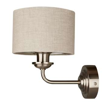 Sorrento Single Arm Wall Light in Chrome (20.7 x 15cm)
