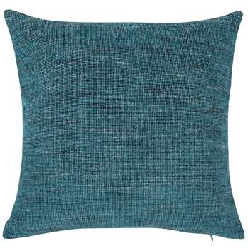 SOURCE Blue and Silver Cushion Cover (H40 x W40cm)
