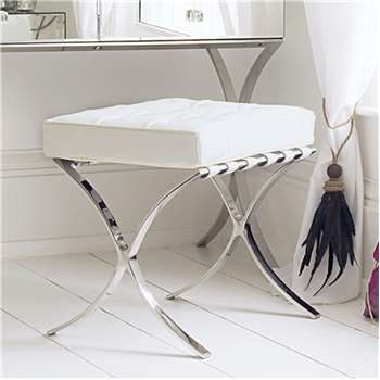 Sovana Dressing Table Stool (H49 x W51 x D40cm)