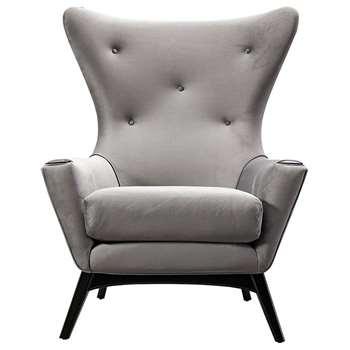 Spalding Armchair Dove Grey (H113 x W89 x D92cm)