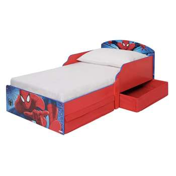 Spider-Man Toddler Bed with Drawers (H59 x W77 x D142cm)