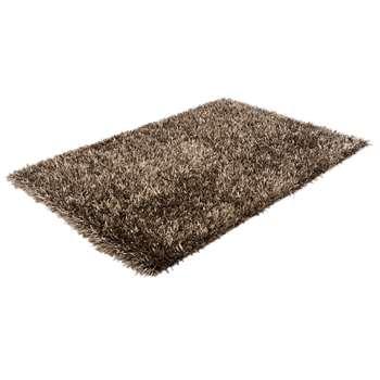 Spike rug large gunmetal (160 x 230cm)