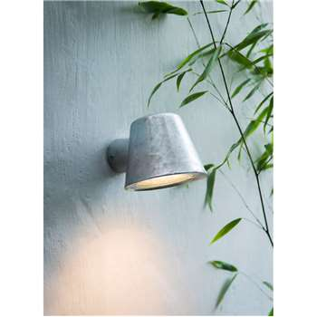 St Ives Mast Light - Galvanised Steel (11 x 11.5cm)