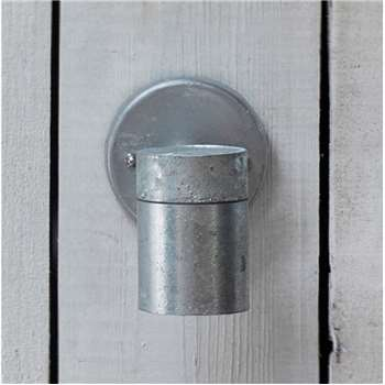 St Ives Outdoor Down Wall Light in Industrial Style 12 x 9.5cm
