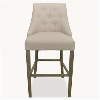 St James Natural Padded Bar Stool (110 x 55cm)