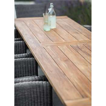 St Mawes Refectory Table, 10 Seater - Reclaimed Teak (78 x 300cm)