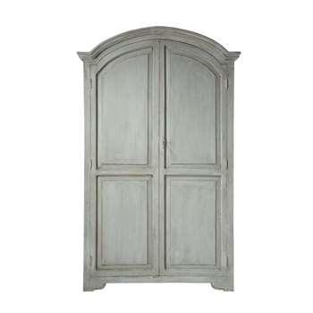 ST RÉMY Pearl Grey Mango Wardrobe (H198 x W130 x D55cm)