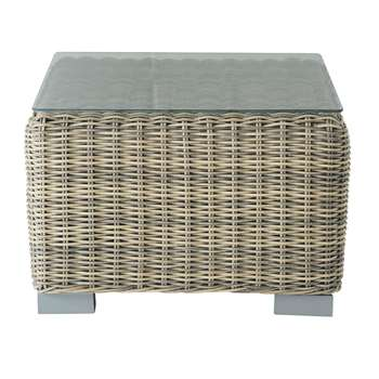 ST RAPHAËL Wicker garden side table (38 x 56cm)