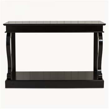 Stanley Black Console Table (83 x 130cm)