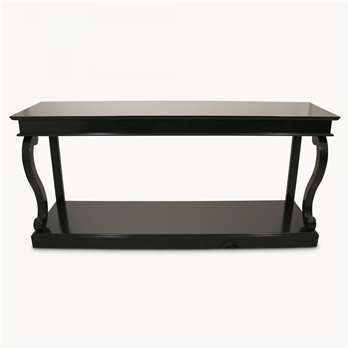 Stanley Long Black Console Table (82.5 x 180cm)
