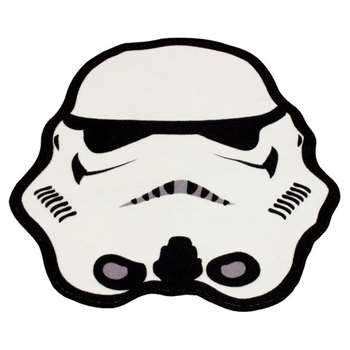 Star Wars Clone Wars Stormtrooper Shaped Rug (79 x 74cm)