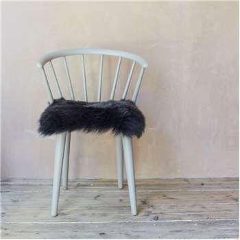 Steel Sheepskin Seat Pad (H37 x W37cm)