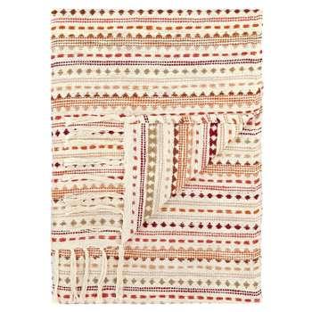 Stitch Stripe Throw (H127 x W152cm)