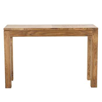 STOCKHOLM Solid sheesham wood console table (Width 120cm)