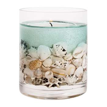 Stoneglow - Nature's Gift Gel Candle - Ocean (H12 x W10 x D10cm)