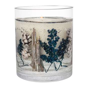 Stoneglow - Vetivert & Blue Spruce Natural Wax Candle (H10 x W12 x D12cm)