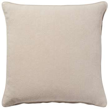 Stonewashed Linen Cushion Cover, Large - Natural (51 x 51cm)
