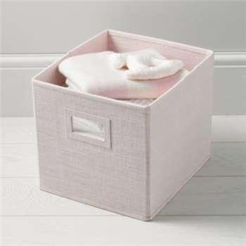 Storage Cube - Pink (27 x 27cm)
