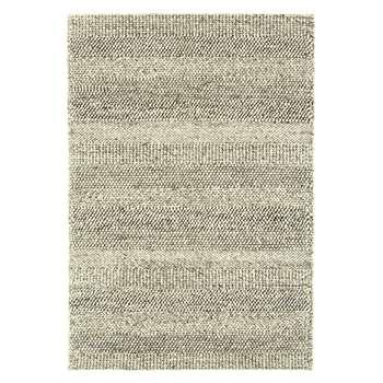 Strata rug large grey marl stripe (160 x 230cm)