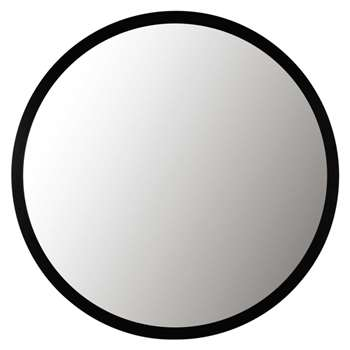 STRATFORD Metal Mirror in Black (Diameter 159cm)