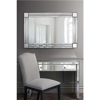 STREAM Rectangle Wall Mirror (120 x 80cm)