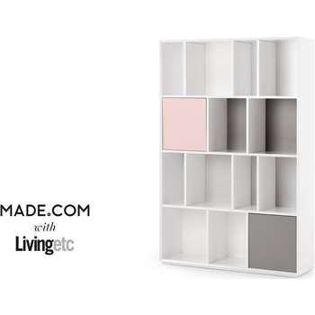 Stretto Large Shelves, Multicolour (180 x 120cm)