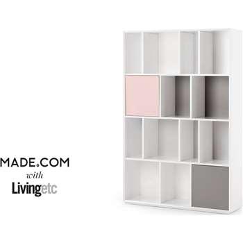 Stretto Large Shelves, Multicolour (180 x 120cm)