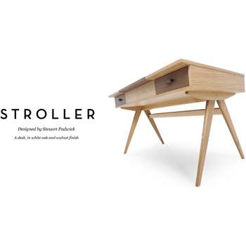 Stroller Desk, Walnut (74 x 140cm)