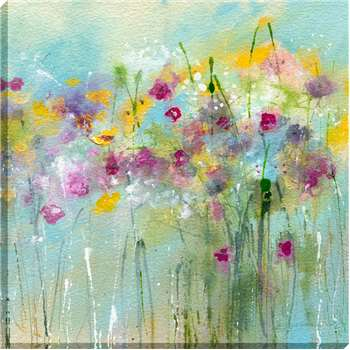 Sue Fenlon - April Showers Print on Canvas (90 x 90cm)