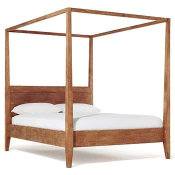 Sumatra Four Poster Bed, King Size (H202 x W163 x D225cm)