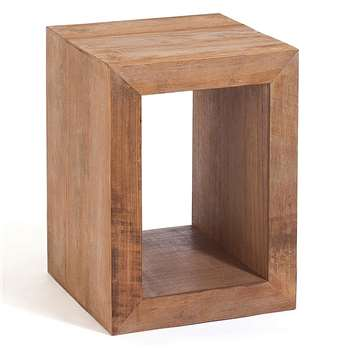 Sumatra Square Bedside Table (60 x 45cm)