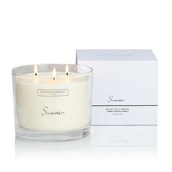 Summer Large Candle (H11.5 x W14 x D14cm)