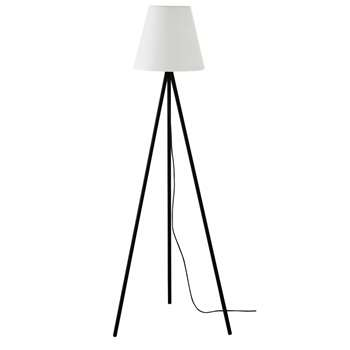 SUN Black Metal Outdoor Floor Lamp (H159 x W59 x D50.5cm)
