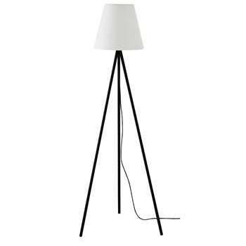 SUN Black Metal Outdoor Floor Lamp (H159 x W59 x D50.5cm)