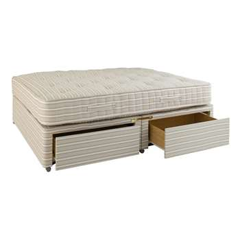 Super King Divan Bed with Drawers (61 x 198cm)