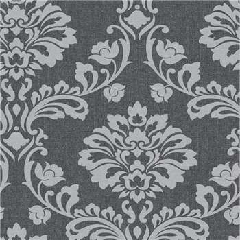 Superfresco Blackgrey Aurora Wallpaper, Black