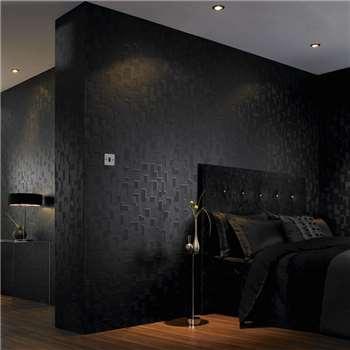 Superfresco Easy Black Checker Wallpaper